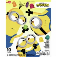 Betty Crocker Minions Fruit Flavored Snacks 10 Count