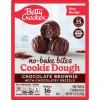 Betty Crocker No-Bake Chocolate Brownie Cookie Dough Bites