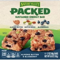 Nature Valley Packed Almond Butter Blueberry Sustained Energy Bars 4 Count