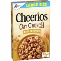 Cheerios Oat Crunch Oats 'n Honey Multigrain Cereal