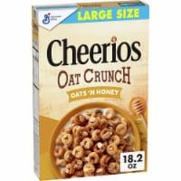 Cheerios Oat Crunch Oats 'n Honey Multigrain Cereal Large Size