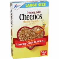 Cheerios Honey Nut Medley Crunch Cereal