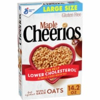 Cheerios Gluten Free Maple Sweetened Whole Grain Oats Cereal Large Size