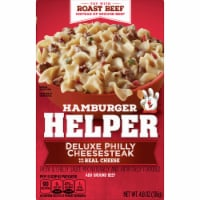 Hamburger Helper Deluxe Philly Cheesesteak Pasta and Cheesy Sauce Mix