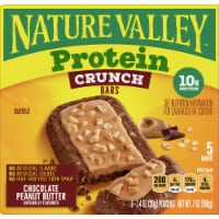 Nature Valley Protein Chocolate Peanut Butter Crunch Bars