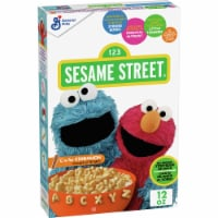 General Mills Sesame Street Cinnamon Cereal