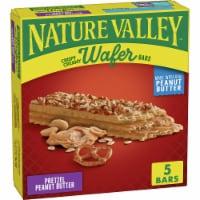 Nature Valley Pretzel Peanut Butter Crispy Creamy Wafer Bars - 5 ct / 1.3 oz
