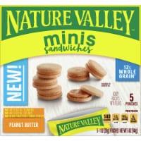Nature Valley Mini Peanut Butter Sandwiches