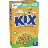Kix Crispy Corn Puffs Cereal Family Size - 18 oz