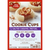 Betty Crocker Salted Caramel Pretzel Cookie Cups Kit - 14.4 oz