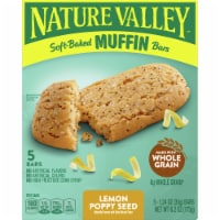 Nature Valley Soft-Baked Lemon Poppy Seed Muffin Bars - 5 ct / 1.24 oz