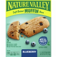 Nature Valley Soft-Baked Blueberry Muffin Bars - 5 ct / 1.24 oz