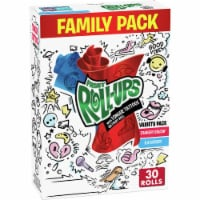Fruit Roll-Ups™ Strawberry Sensation and Blue Raspberry Fruit Flavored Snacks Family Pack - 30 ct / 0.5 oz