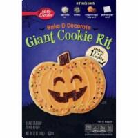 Betty Crocker Bake & Decorate Giant Pumpkin Cookie Kit - 12 oz