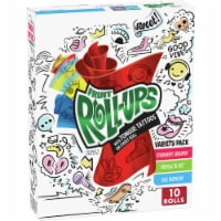 Fruit Roll-Ups with Unicorn Tongue Tattoos Gluten Free Fruit Flavored Snacks Variety Pack