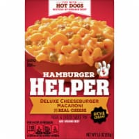 Hamburger Helper Deluxe Cheeseburger Macaroni Pasta & Cheesy Sauce Mix
