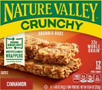 Nature Valley Crunchy Cinnamon Granola Bars - 6 ct / 1.49 oz
