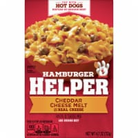 Hamburger Helper Cheddar Cheese Melt Pasta & Sauce Mix