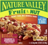 Nature Valley Fruit & Nut Cranberry & Pomegranate Chewy Trail Mix Granola Bars