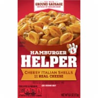 Hamburger Helper Cheesy Italian Shells