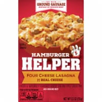 Hambuger Helper Four Cheese Lasagna