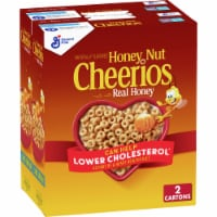 Honey Nut Cheerios Cereal Twin Pack