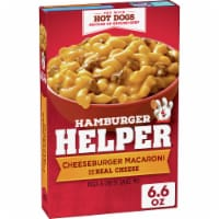 Hamburger Helper Cheeseburger Macaroni Meal