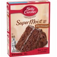 Betty Crocker Super Moist Milk Chocolate Cake Mix