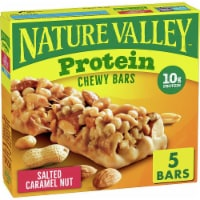Nature Valley Protein Salted Caramel Nut Chewy Bars - 7.1 oz