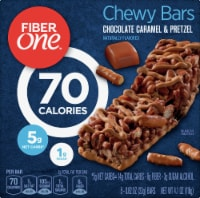Fiber One 70 Calorie Chocolate Caramel & Pretzel Chewy Bars 5 Count