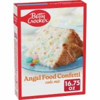 Betty Crocker Confetti Angel Food Cake Mix - 16.75 oz