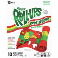 Fruit Roll-Ups Flavor Mixers Fruit Snack Rolls 10 Count