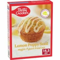 Betty Crocker Lemon Poppy Seed Muffin Mix & Quick Bread Mix - 14.5 oz