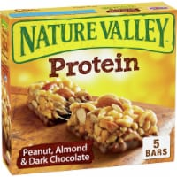 Nature Valley Peanut Almond & Dark Chocolate Protein Chewy Bars 5 Count