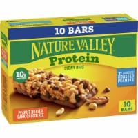 Nature Valley Protein Peanut Butter Dark Chocolate Chewy Bars - 10 ct / 1.42 oz