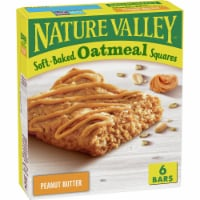 Nature Valley Soft Baked Peanut Butter Oatmeal Squares