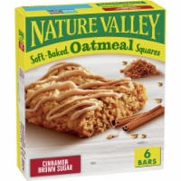 Nature Valley Soft Baked Cinnamon Brown Sugar Oatmeal Squares