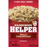 Hamburger Helper Philly Cheesesteak Mix