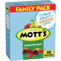 Mott's Assorted Fruit Flavor Snacks Family Size