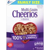 Multi Grain Cheerios Gluten Free Lightly Sweetened Cereal Family Size