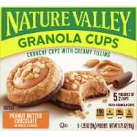 Nature Valley Peanut Butter Chocolate Granola Cups 5 Count