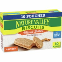 Nature Valley Honey Biscuits with Peanut Butter Filling Pouches 10 Count