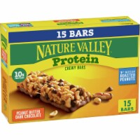 Nature Valley Protein Peanut Butter Dark Chocolate Chewy Bar Family Pack 15 Count