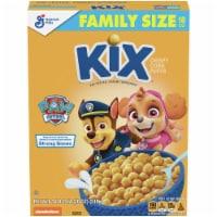 Kix Crispy Corn Puffs Cereal Family Size