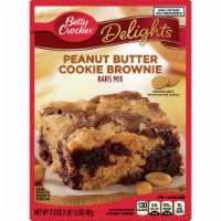 Betty Crocker Delights Peanut Butter Cookie Brownie Bars Mix