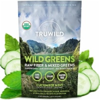 WILD GREENS USDA Organic Green Adaptogen Powder - Natural Flavor (Mint Cucumber) - 1 unit