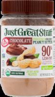 Just Great Stuff Organic Chocolate Powdered Peanut Butter