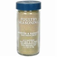 Morton & Bassett Poultry Seasoning - 2.1 oz