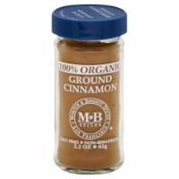 Morton & Basset 100% Organic Ground Cinnamon - 2.2 oz
