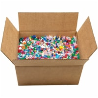 Mixed Plastic Beads 10lb-Assorted Shapes & Sizes - 1